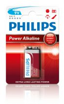 6LF22-PH Pila alcalina 6LR61-9V PHILIPS Extra power